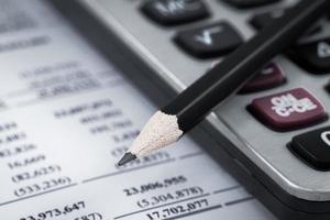 mostrando relazione commerciale e finanziaria foto