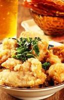 pollo fritto taiwanese foto