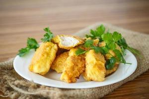 pollo fritto in pastella foto
