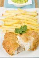 patatine e pesce foto