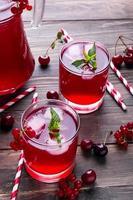 bevanda fredda ai frutti di bosco