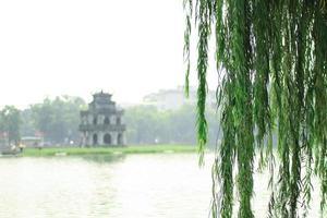 lago Hoan Kiem a Hoani foto