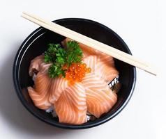 sushi, cibo giapponese. foto