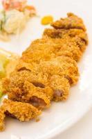 cotoletta di maiale giapponese, tonkatsu foto