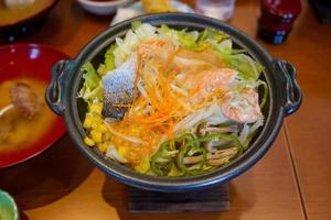 piatto caldo giapponese foto