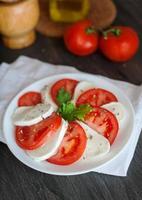 mozzarella di insalata foto