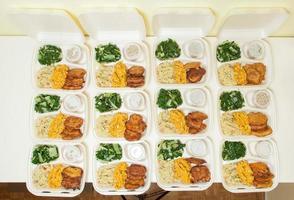 cestini del pranzo foto