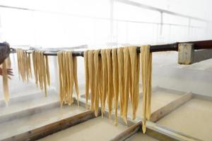 processo di produzione di yuba