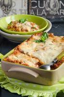 Lasagna bolognese foto
