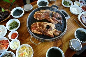 barbecue coreano foto