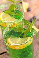 cocktail alla menta foto