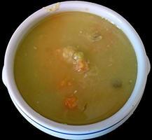 zuppa di piselli foto