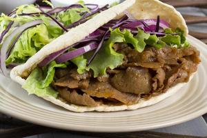 donner kebab / giroscopio foto