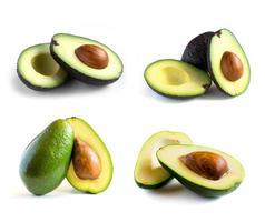 set di avocado fresco foto