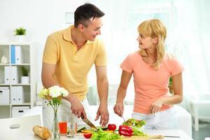 cucinare insalata foto