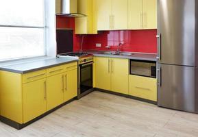 cucina gialla foto