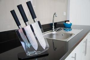 coltello da cucina. foto