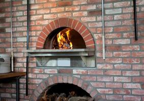 forno a legna per pizza foto