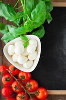 sfondo di cibo italiano