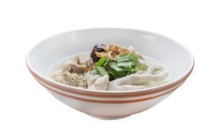 jub di riso vietnamita, zuppa di noodle vietnamita foto