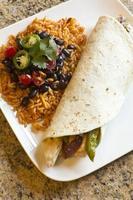 fajita di pollo messicana foto