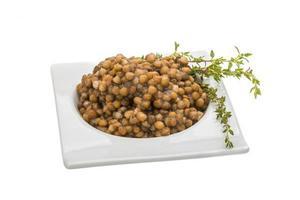 lenticchie al forno foto