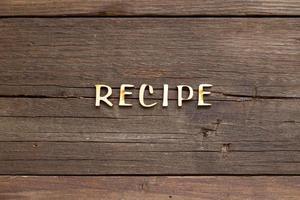 parola ricette