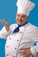 felice cuoco attraente foto