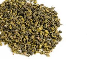 tè verde secco foto