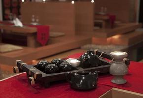 set di cerimonia del tè cinese