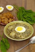 zuppa di acetosa foto