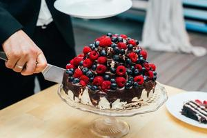 torta nuziale foto