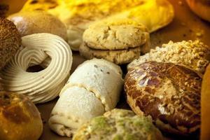 sfondo di pane foto