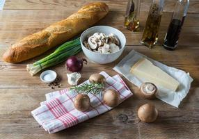 ingredienti per la bruschetta
