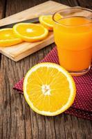 arancia matura foto