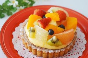 tartina alla frutta foto
