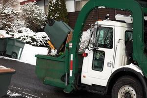riciclo e gestione dei rifiuti di cantiere foto