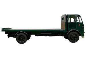 camion pianale d'epoca foto