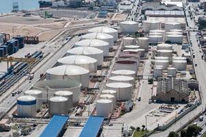 porto industriale foto