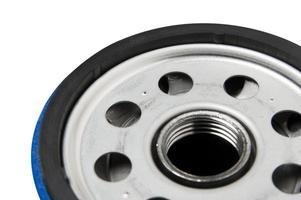 filtro dell'olio automobilistico foto