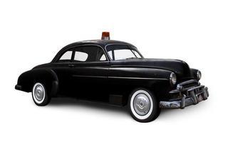 auto della polizia. foto
