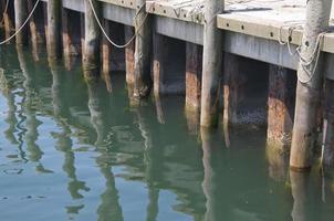 Molo del pescatore a Newport, Ri, Stati Uniti d'America