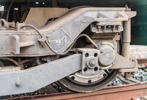 ruota del treno foto
