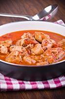 zuppa di pesce. foto