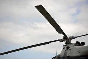 motore elicottero foto