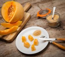melone cantalupo foto