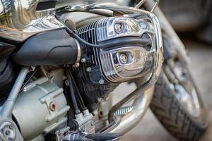 parti di motociclette foto