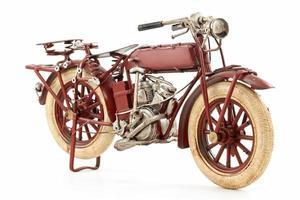 modello di motocicletta di latta foto