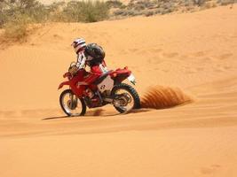 spruzzo di sabbia dell'entroterra foto