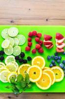 frutta fresca foto